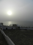 Cape Coast Castle at sunrise